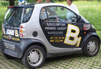 Mercedes Smart nie jest już zaliczany do kategorii B1 !!