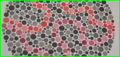 Tablice do badania daltonizmu u kierowców