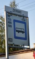 Przystanek autobusowy 109, 409, 129, 609