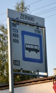 Bus Stop next to Surgery