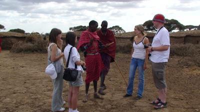 Kenia - spotkanie z miejscowymi