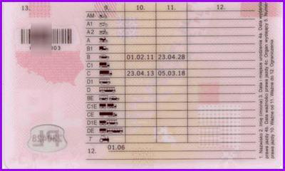 Prawo jazdy kategorii C bez kodu 95 uprawniającego <br>do jazdy zawodowej!