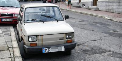 Fiat 126p Maluch na kategorię B