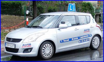 Suzuki Swift auto egzaminacyjne w Krośnie