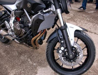 Obsługa motocykla Yamaha MT 07 we Wrocławiu