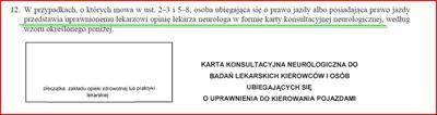 Chory na padaczkę musi przedstawić kartę neurologiczną