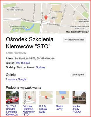 Polecam OSK Sto we Wrocławiu
