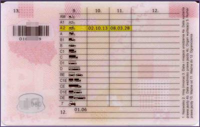 Prawo jazdy A2 zrobione we Wrocławiu