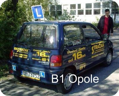 Prawo jazdy B1 od 16 lat Opole