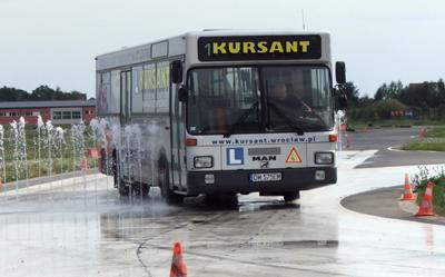 Prawo jazdy na autobus Man