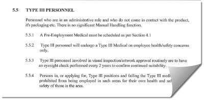 Pre-Employment Medical Examination