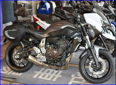 Motocykle Yamaha na prawo jazdy A2