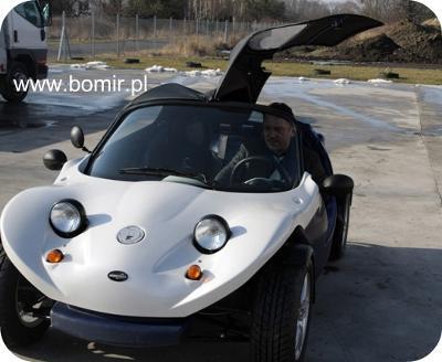 Secma Fun Extrem'e Auto B1 prawo jazdy