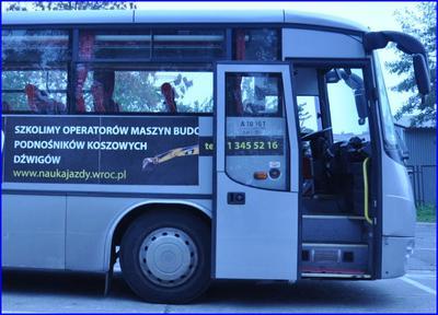 Pamiętaj o sprawdzeniu autobusu przed jazdą!!
