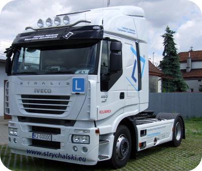 Świadectwo kwalifikacji ciężarówka Iveco Kraków