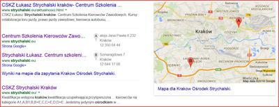 Centrum Szkolenia Kierowców Zawodowych Strychalski w Krakowie