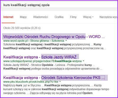 Kursy kwalifikacji wstępnej w Opolu.