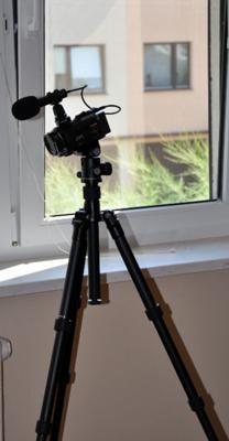 Inne ujęcie Kamery z Mikrofonem