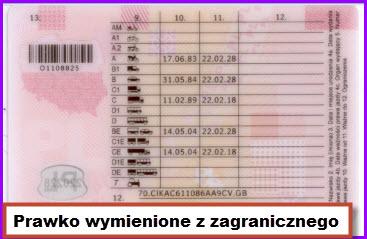 Terminowe prawo jazdy do wymiany