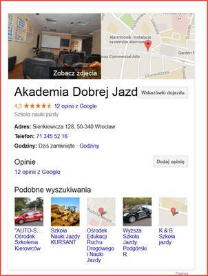Akademia Dobrej Jazdy instruktor Adrzej Białek