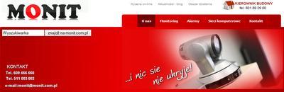 Systemy alarmowe firmy Monit z Wrocławia