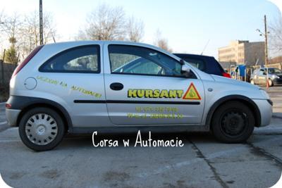 Prawo jazdy Corsa Automat