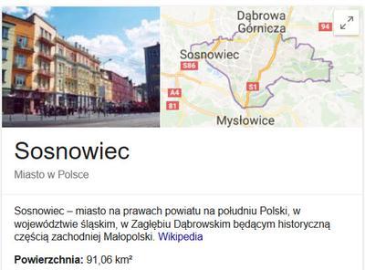 Zdjęcie miasta Sosnowiec