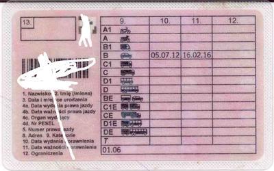 Prawo jazdy terminowe